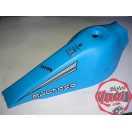 Deposito Bultaco Sherpa Azul