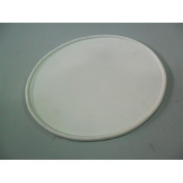 Portanumeros Oval Blanco 28x23