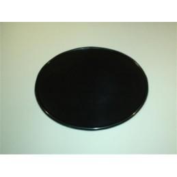 Portanumeros Oval Negra 28x23