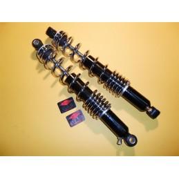 Amortiguadores Betor Negro Muelle Cromo 360 mm.