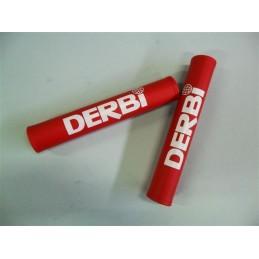Protector Manillar Derbi Rojo