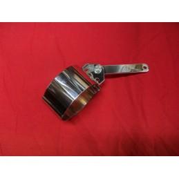 Brida Silenciador Bultaco Pursang / Lobito / Astro Cromada