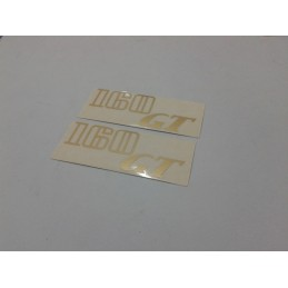 Adhesivo OSSA 160 Turismo Rojo-Blanco PAREJA