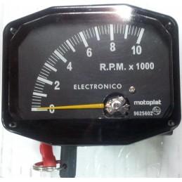 Cuenta RPM Motoplat 0-10.000 Negro