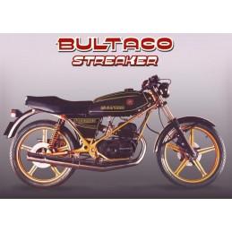 Asiento Bultaco Streaker NEGRA