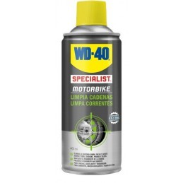 Spray Limpiador de Cadenas WD-40 400 ml.