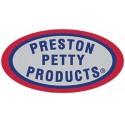 Ovalo Portanumeros Preston Petty Blanco