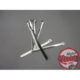 Abrazadera Metalica Aluminio 11 CM.
